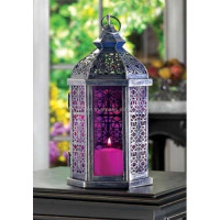 Metal Lantern, Decorative Lantern, Interior lantern, table Lantern, iron wire Lantern, Lantern with Clear Glass