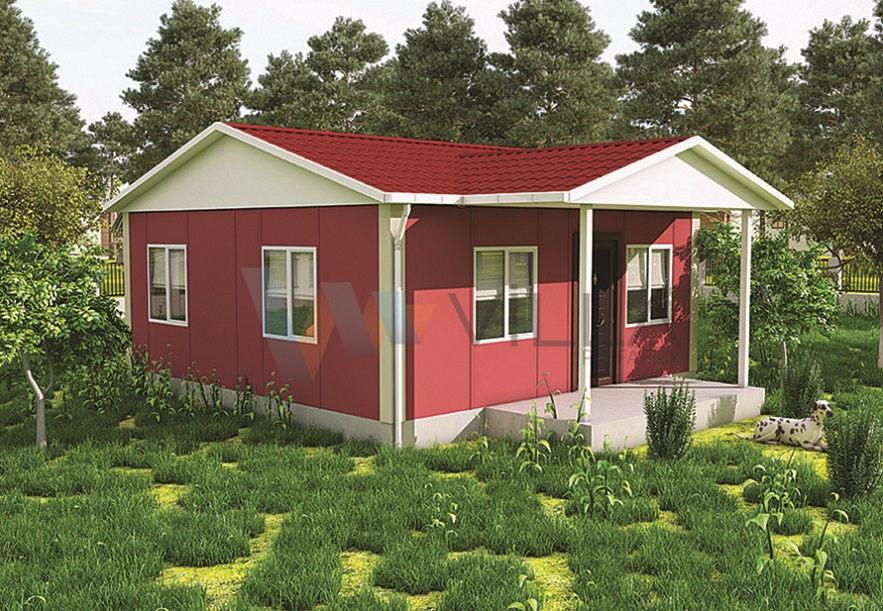 Single-storey Prefabricated House VP512