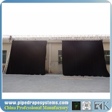 foldable rental led strip curtain displays screen