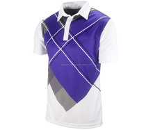 Sublimation Polo Shirt polyester fabric
