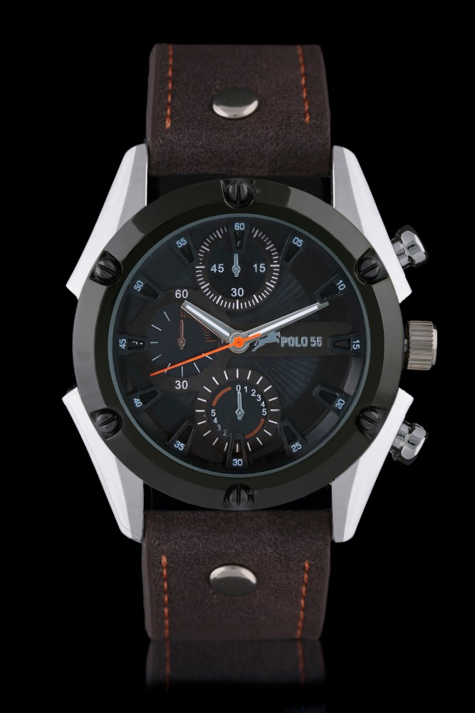 POLO55 brand name 2017 fashion men watch