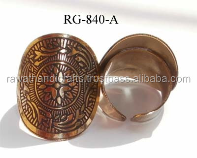 Buy online Wholesales Gold plated Brass Rings jewelry RG-840