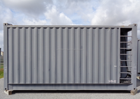11' (3350mm)W x 10' (3048mm)H x 20' (6058mm)L Steel / Modular/ Container / Building
