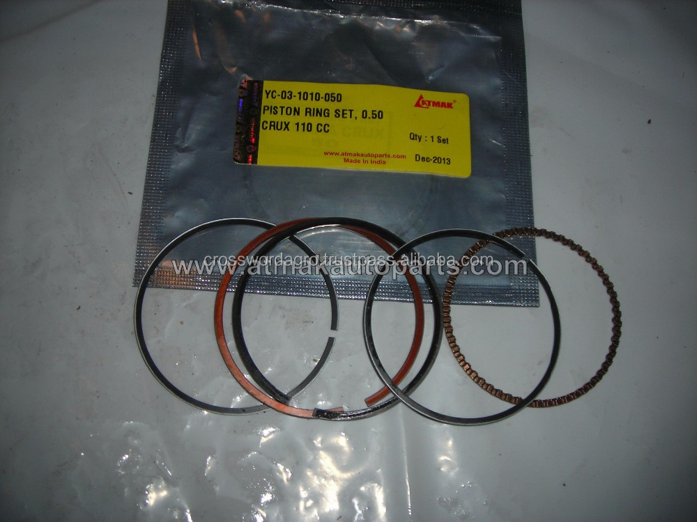 PISTON RING SET 0.50mm FOR YAMAHA CRUX 110 CC IN MEXICO