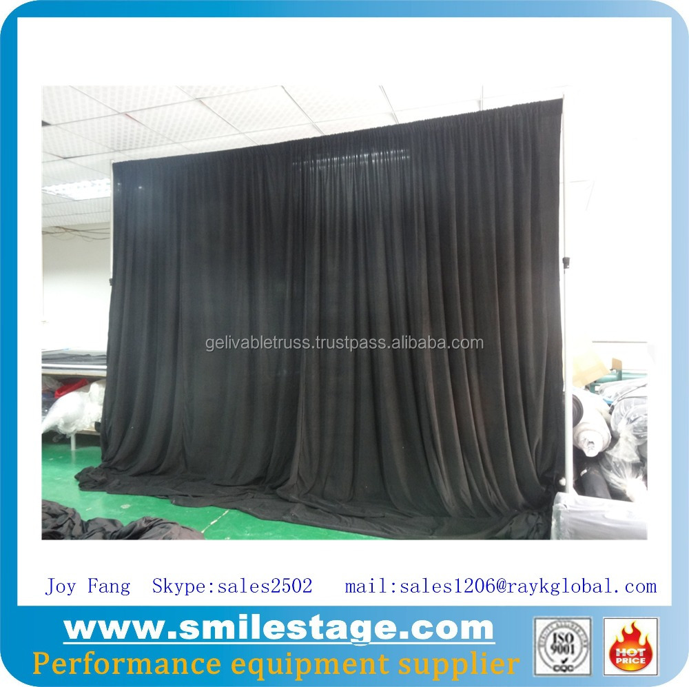 wedding backdrop fabric velvet fabric for drapery