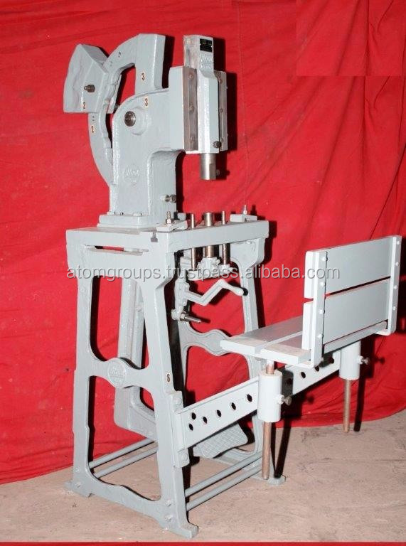 Atom Brand Soap Stamper Machine No. D - 6