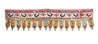 Peacock Crafted Window Valance Mirror Door Hanging Indian Door decor Toran