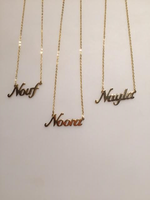 Name Necklaces, Wholesale Jewelry, Personalised Necklaces, Personalised Pendants , Gold Plated Jewelry, Arabic Name Necklaces