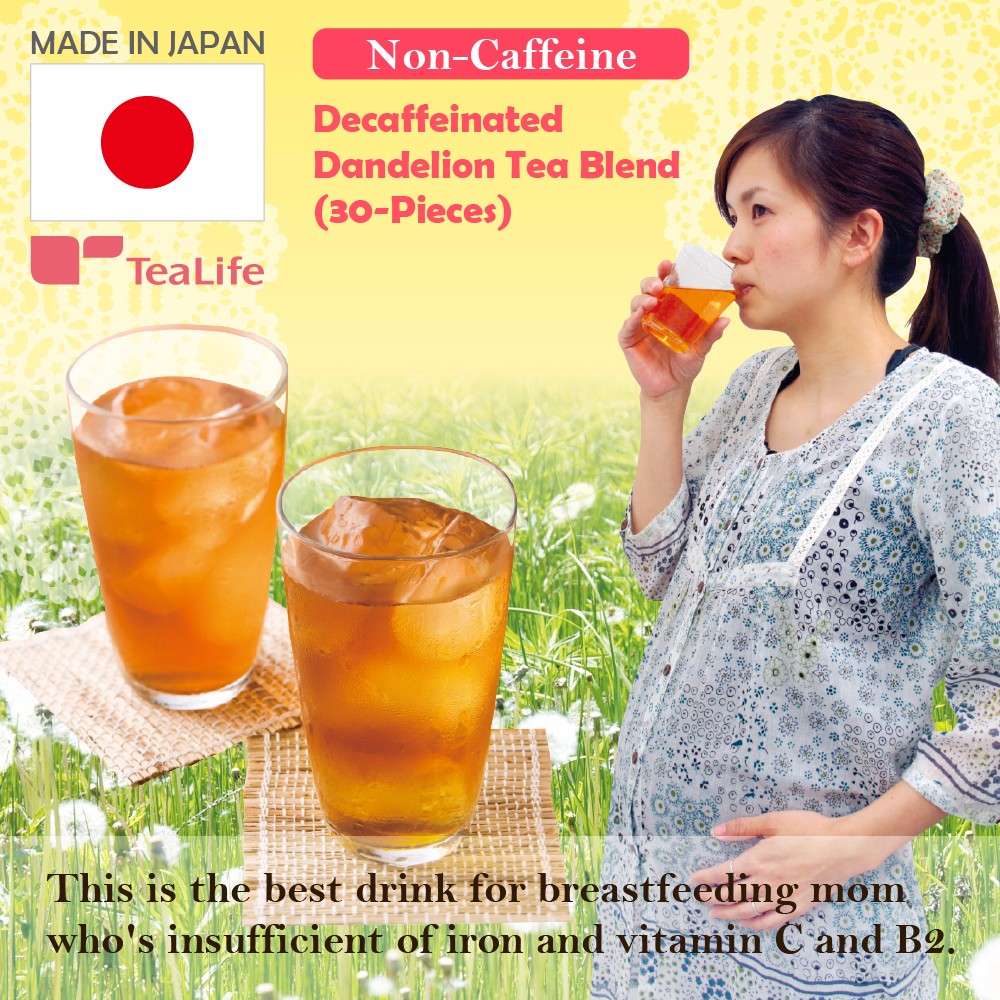 Hot-selling function drinks in Japan,dandelion tea blend for expectant or nursing mothers ,green tea also available