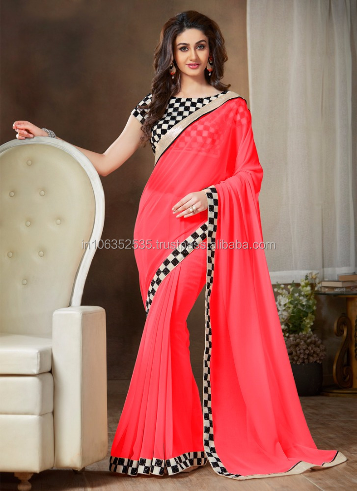 Online shopping for georgette sarees on low prices