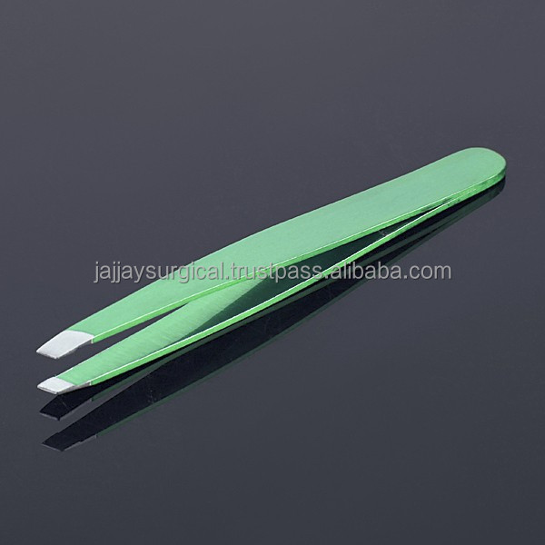 EYEBROW TWEEZERS PARROT COLOR High Quality