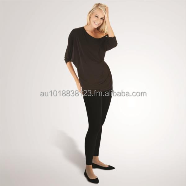 Maternity Seamless Leggings Premium Quality - One Size Fits Most - Over Belly Style - Available Small Lots Ideal for Resellers