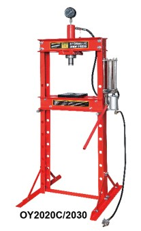 20Ton CE approved Hydraulic&Pneumatic Shop Press with Gauge