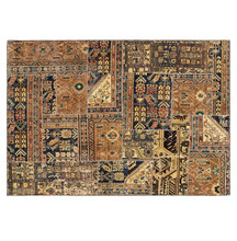 Wool Hand Knotted Patchwork rug, Wholesale Traditional Design Hand Woven Carpets and Rug
