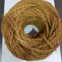 Golden Brown Coir Yarn Best Quality