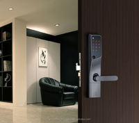 Smart and intelligent swipe key card door lock by Japanese manufacturer