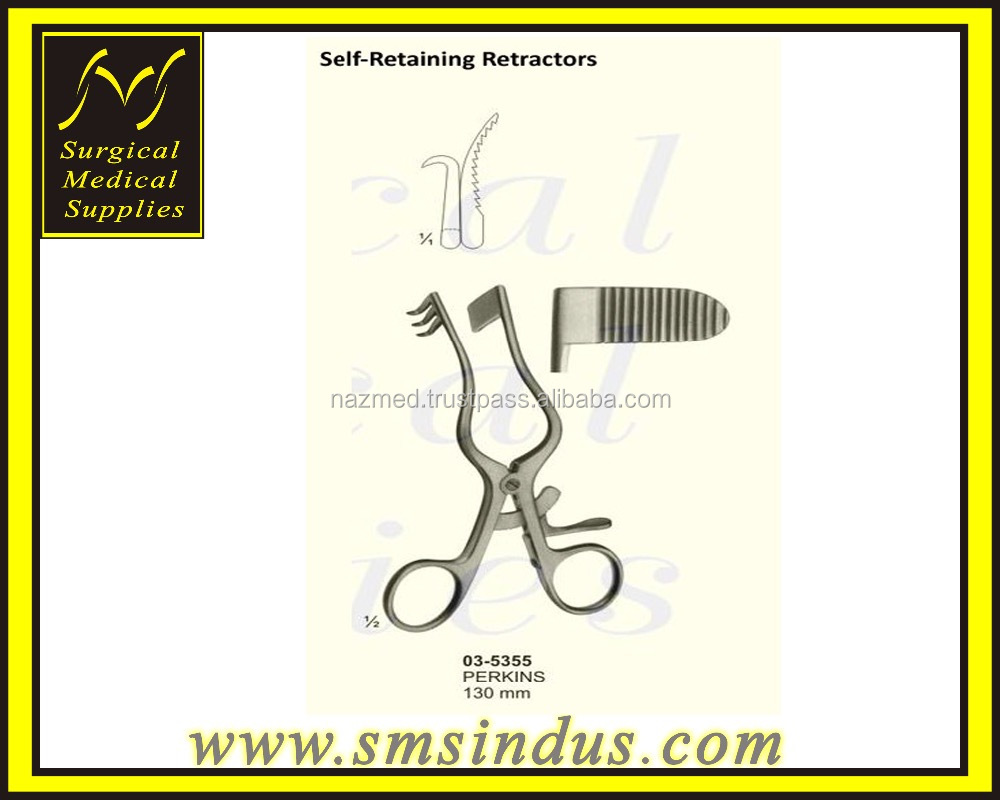 PERKINS SELF RETAINING RETRACTORS