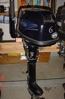 Used Tohatsu MFS6CS 6 hp Four-Stroke Outboard Motor
