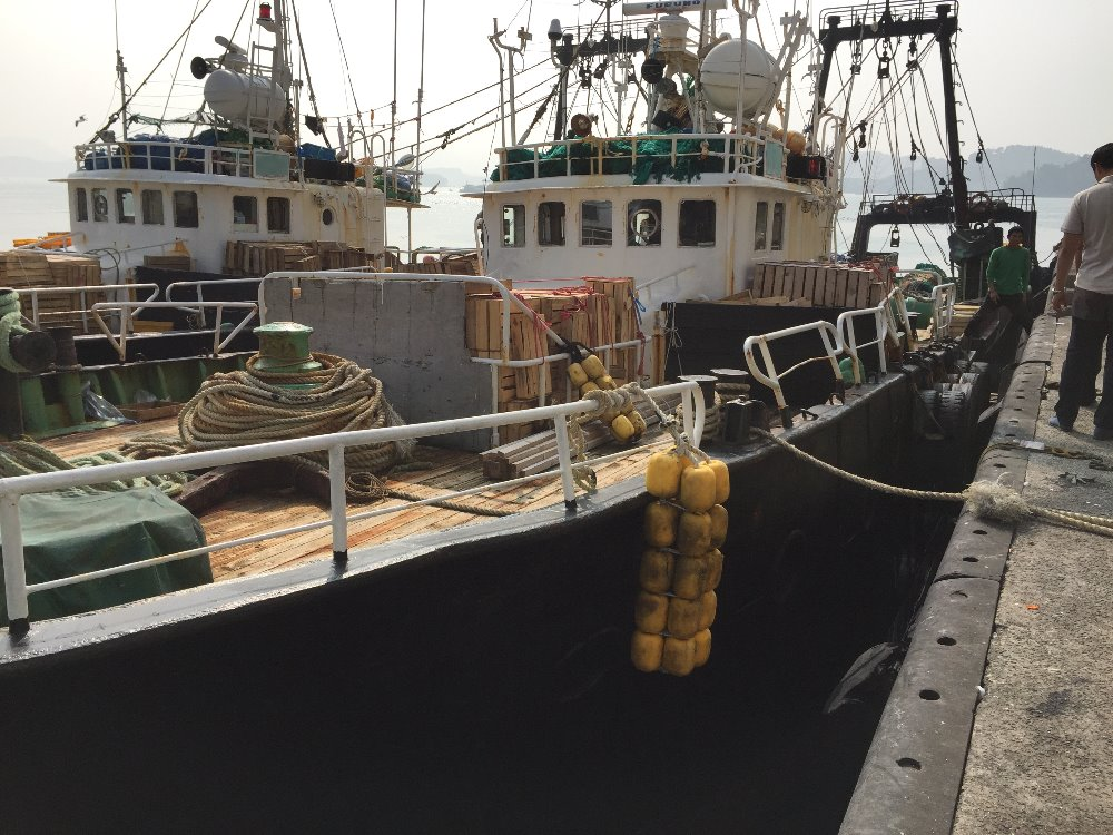 USED TRAWLER FISHING VESSEL FOR SALE