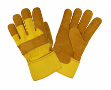 Cheap Labor Working Leather Gloves 707 Split Leather Gloves