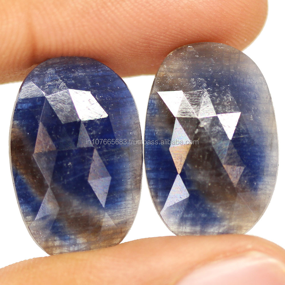 Rose Cut Untreated Unheated Sapphire in All colour Pairs Available in Wholesale