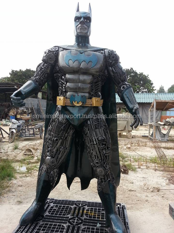 Outdoor BATMAN Statue Robot Sculpture