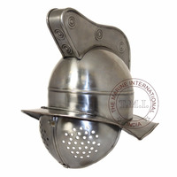 ROMAN GLADIATOR FIGHTER HELMET - MOVIE GLADIATOR ARMOR HELMET