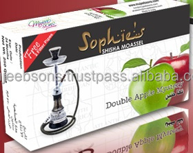 SHEESHA _HOOKAH_TOBACCO_FLAVOURS 50 GRAMS X 10 DOUBLE APPLE MYSTERY TOBACCO FLAVOUR