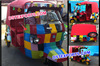 Wedding Decorated Auto Rickshaw for Bridal Entry/New Design Auto Rikshaw