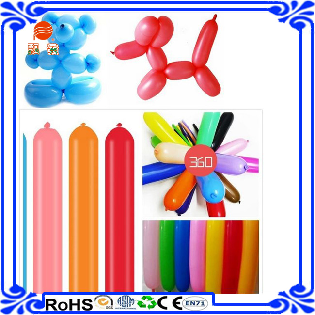 animal party magic DIY printing modeling balloon flowers