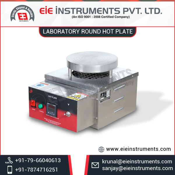 Industrial Grade Latest Design Lab Hot Plate from Certified Company at Best Price