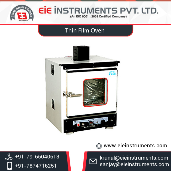High Grade Top Selling Rolling Thin Film Test Oven at Market Price