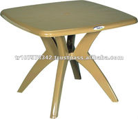 plastic folding table and chair