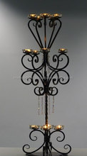 New Trend Cheap wrought iron Candelabras Wholesale , Candelabras Wedding