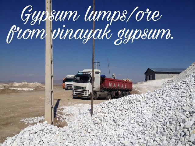 Quick Lime Natural Gypsum lumps