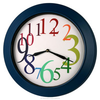 "19"" New Classic Jumbo Thick Quality Metal Wall Clock Home Decor, Office, Public Places WG0023"