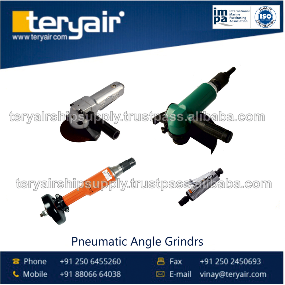 CE Certified Company Selling Easy to Operate Pneumatic Angle Grinders at Factory Price