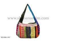 Custom made evening bags for ladies boho hippie style shoulder bags rasta hobo mexican bags