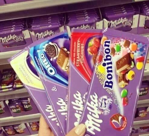 Milka Chocolate 100g/milka Chocolate 100g/300g All Flavours - Buy ...