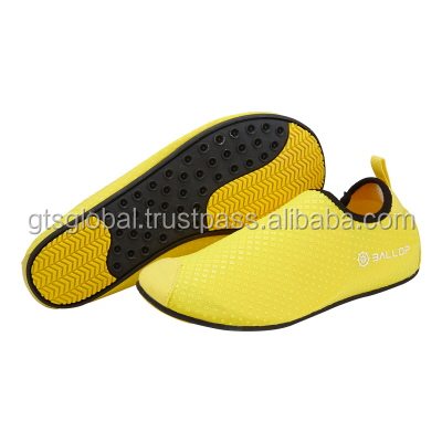 fitness Gym shoes, Water Sports Shoes, Aqua Shoes, Water Shoes, Swimming Shoes, Fitness, Gym, Yoga Shoes---Ballop Dia Yellow