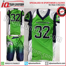 Kids American football Uniform, youth football integrated pant
