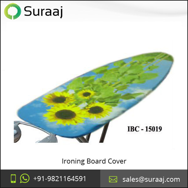 Best Quality Ironing Board Cover with Sunflower Motif Design for Sale