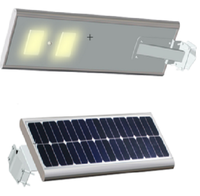 Pakistan produces All in one solar led street light