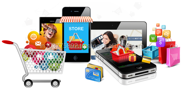 E commerce Website designing and development India Telephones & Accessories