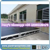 Top selling portable stage plans with industrial finish material on sale