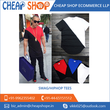 Dual Color Plain Slim Fit Men's Swag T Shirt from Reliable Suppliers
