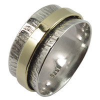 Meditation Spin Spinner Band Ring Hot