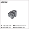 Compact MT high quality aluminium profile 45x45 mm quarter round
