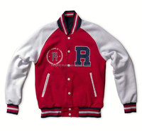 Reversible Varsity Jacket Design your own custom for Senior Class Front Back Fleece Jacket /AT BERG
