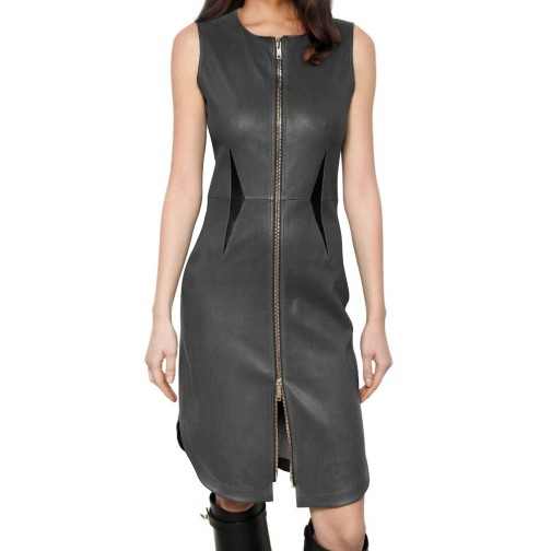 new fashion leather dress /leather hot wear/stylish leather women wearing